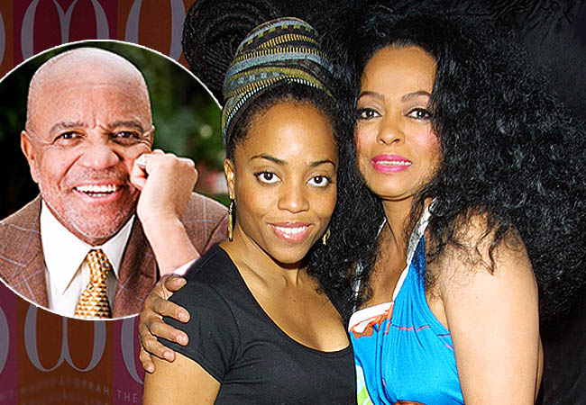 Diana Ross And Berry Gordy Daughter >> Diana Ross Daughter Tells How She Discovered Berry Gordy Was Her