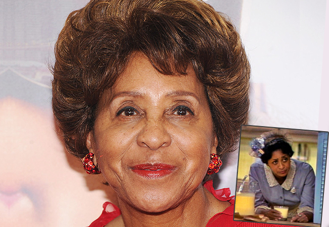 Marla Gibbs entrance